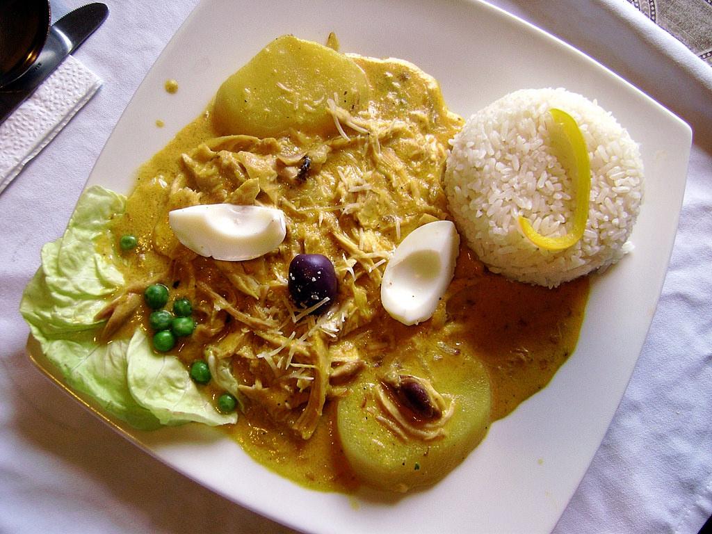 El Ají de Gallina Peruano delicia de la gastronomía mundial