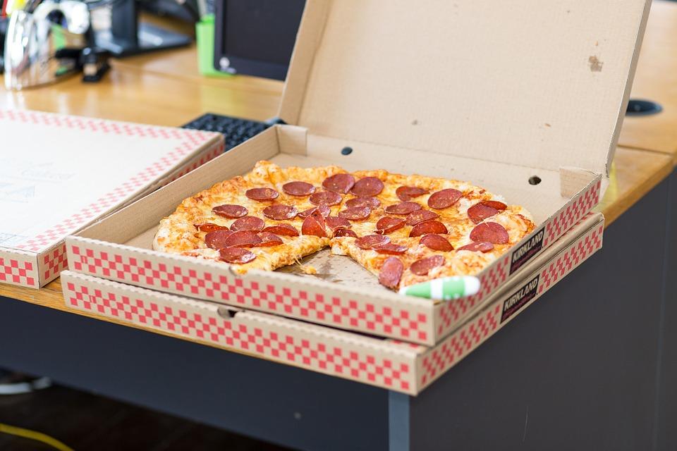 Alimento para llevar y consumir en la oficina