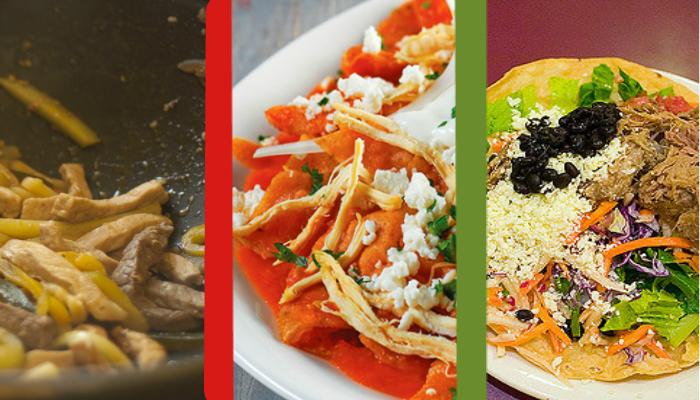 cocina mexicana , cocina tres recetas