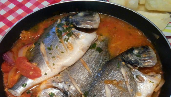 delicioso sudado de pescado