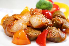 Gracias por compartir Pollo Agridulce Chino La receta original