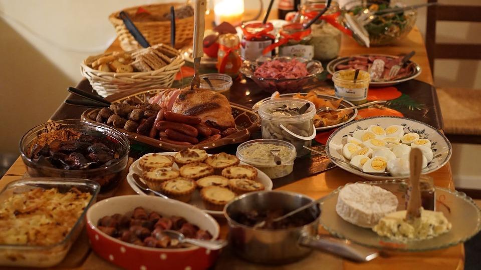 plato navideño italiano Fritelle di baccalà