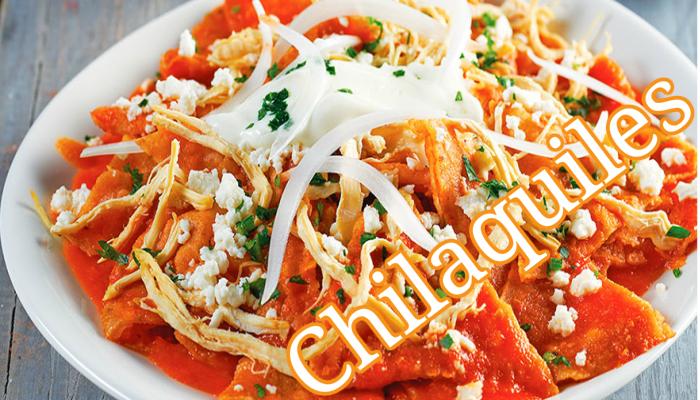 cocina chilaquiles mexicanos ,