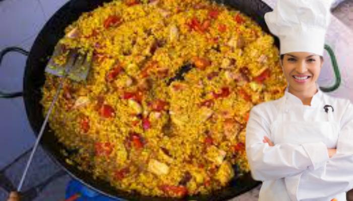 cocina Arroz con Pollo