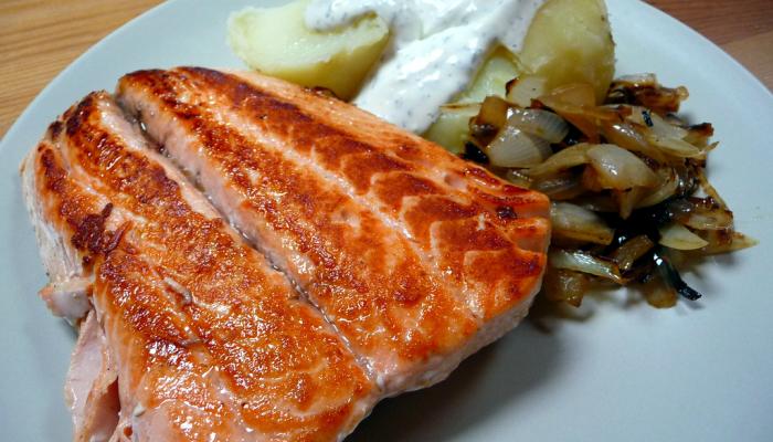 Facil receta de salmon