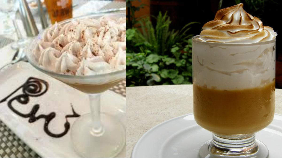 Delicia de receta Peruana Suspiro Limeño