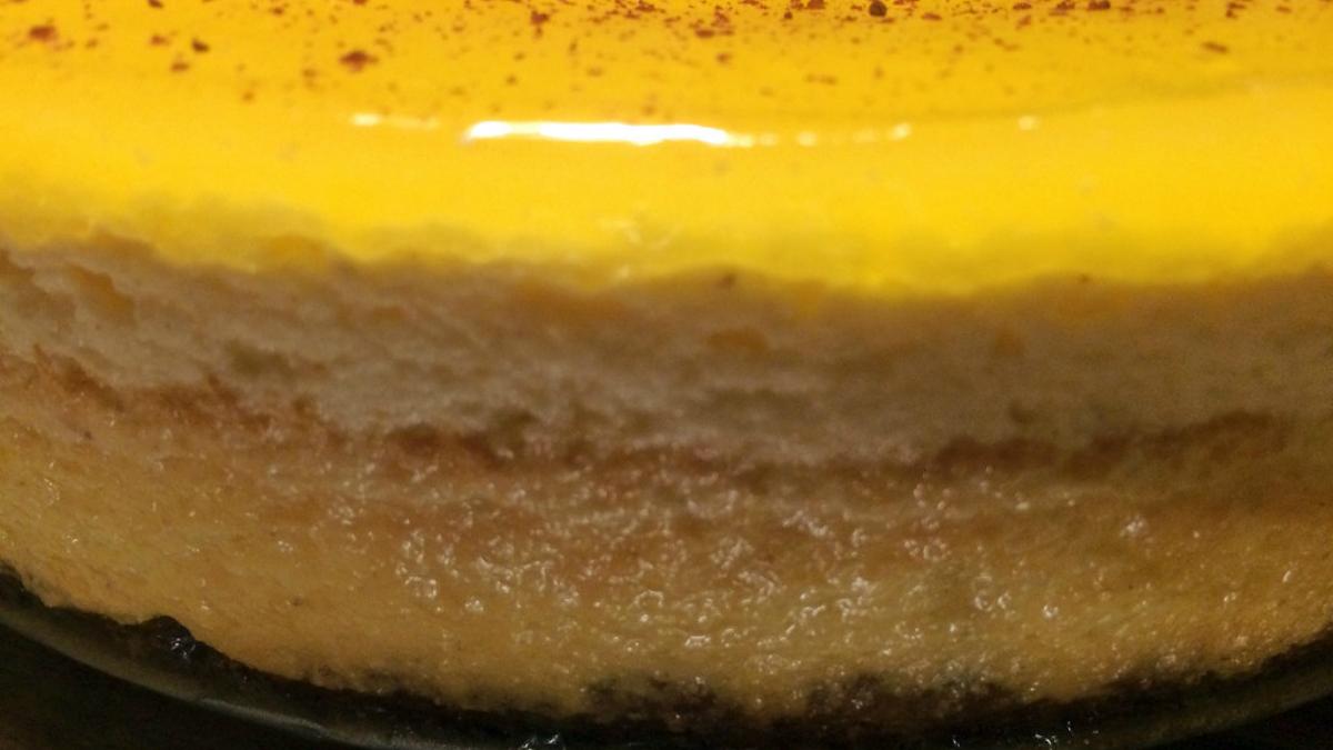 Cheesecake de Mango una ricura hecha en casa